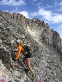 Kletterpassagen